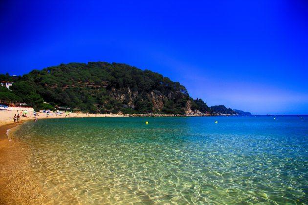 best beaches on the costa brava